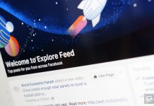 Facebook's discovery-minded Explore Feed comes to your desktop