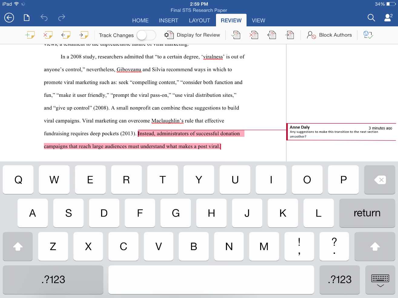 Microsofts Learning Tools For Students Heads To Word On IPad