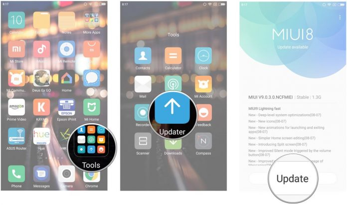 How to download and install MIUI 9 on the Redmi Note 4