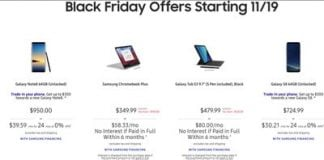 Samsung's Black Friday deals include $100 off Chromebooks and more