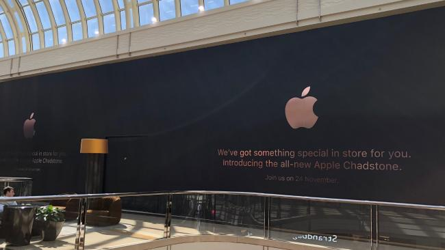 First Australian Apple Store Gets Modern Redesign as Thieves Rob