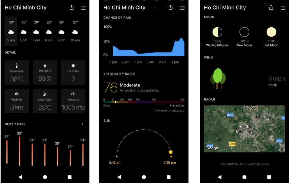 Today Weather: A beautiful weather app and a must-have for