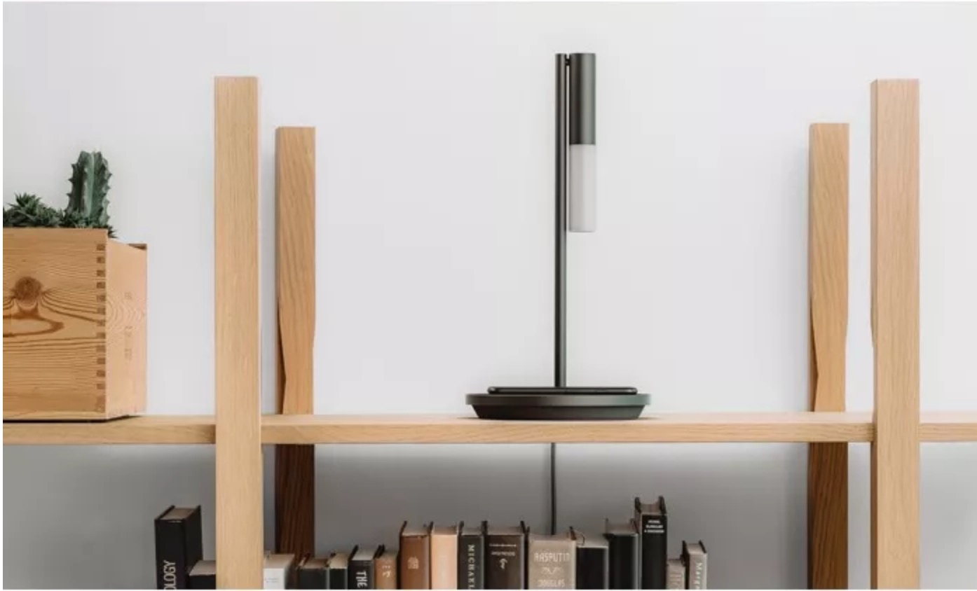 Olie Lamp Includes A Voice Assistant And Wireless Charging