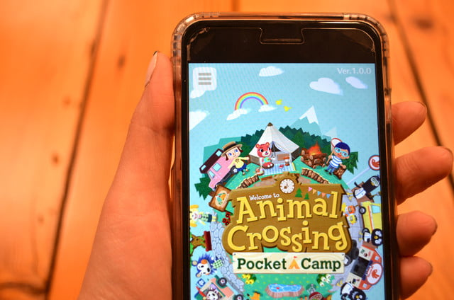 Commune with nature in 'Animal Crossing: Pocket Camp' for mobile