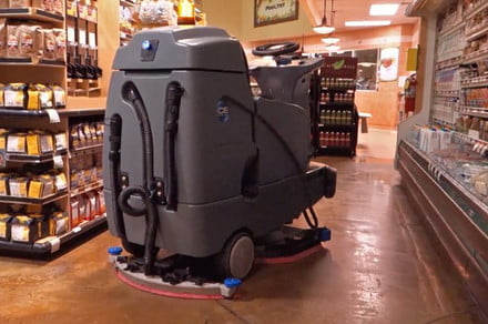 Walmart looks to keep store floors squeaky-clean by using self-driving robots