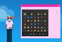 Windows 10 keyboard offers emoji suggestions in latest preview