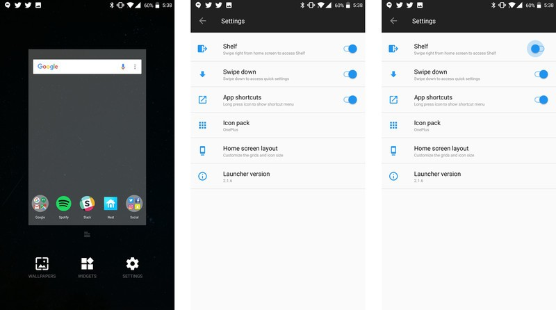 Oneplus Shelf Apk