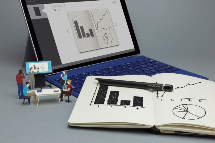 Moleskine's smart notebook will work with Microsoft Office