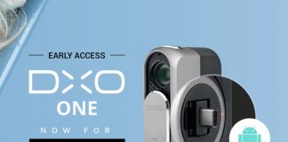 DxO One camera for Android now available in early access program for $499