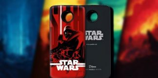 Motorola's releasing a Star Wars Moto Mod, but only in China