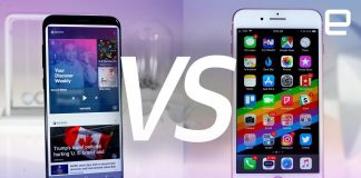 The iPhone 8 goes up against the Samsung Galaxy S8 Plus