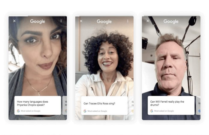 Google puts celebrities to work answering your search questions