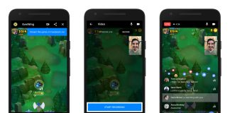 Facebook Live can now broadcast Messenger games