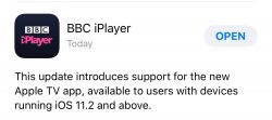 BBC iPlayer Update Hints at Imminent Release of Apple's TV App in the UK