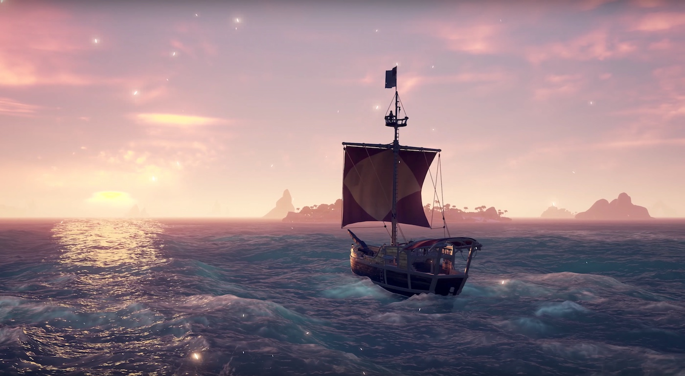 sea of thieves xbox how to change the sail directoin