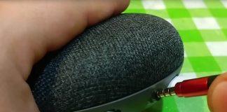 Mod gives Google's Home Mini speaker its 'missing' line-out jack