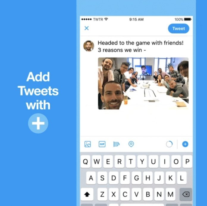 Twitter Launches New 'Threads' Feature for Tweetstorms