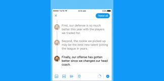 Twitter adds thread tools to help you craft epic tweetstorms