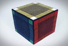 Record-breaking Rubik's Cube isn't a puzzle — it's practically a torture device