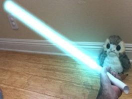 Want a lightsaber? Just roll up a piece of paper and InstaSaber will do the rest