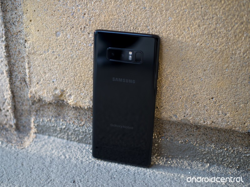 galaxy-note-8-black-back-angle-on-cement