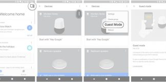 How to enable Google Home 'Guest mode'