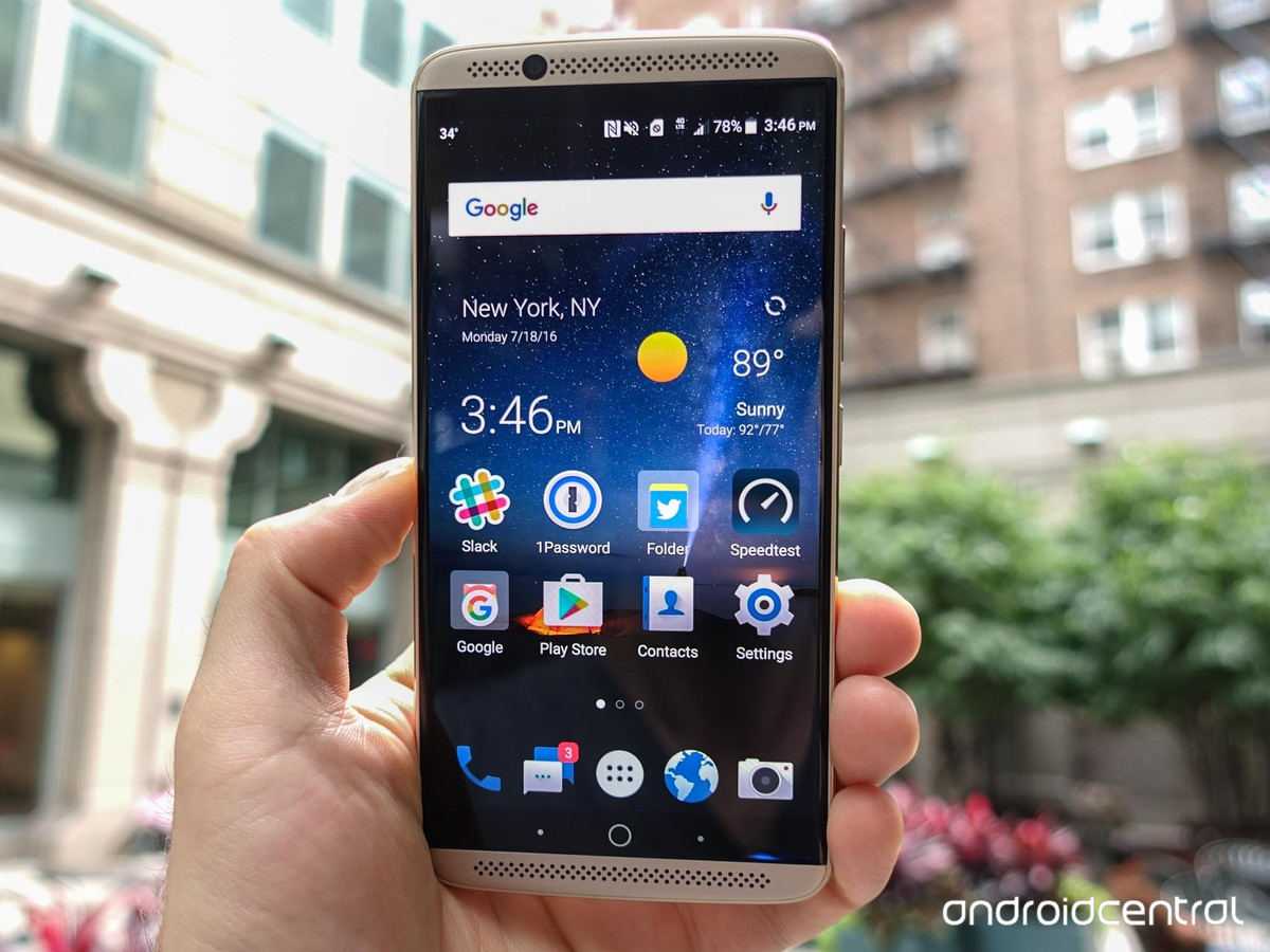Android 8 0 Oreo with 'Stock+ UI' coming to Axon 7 in April 2018