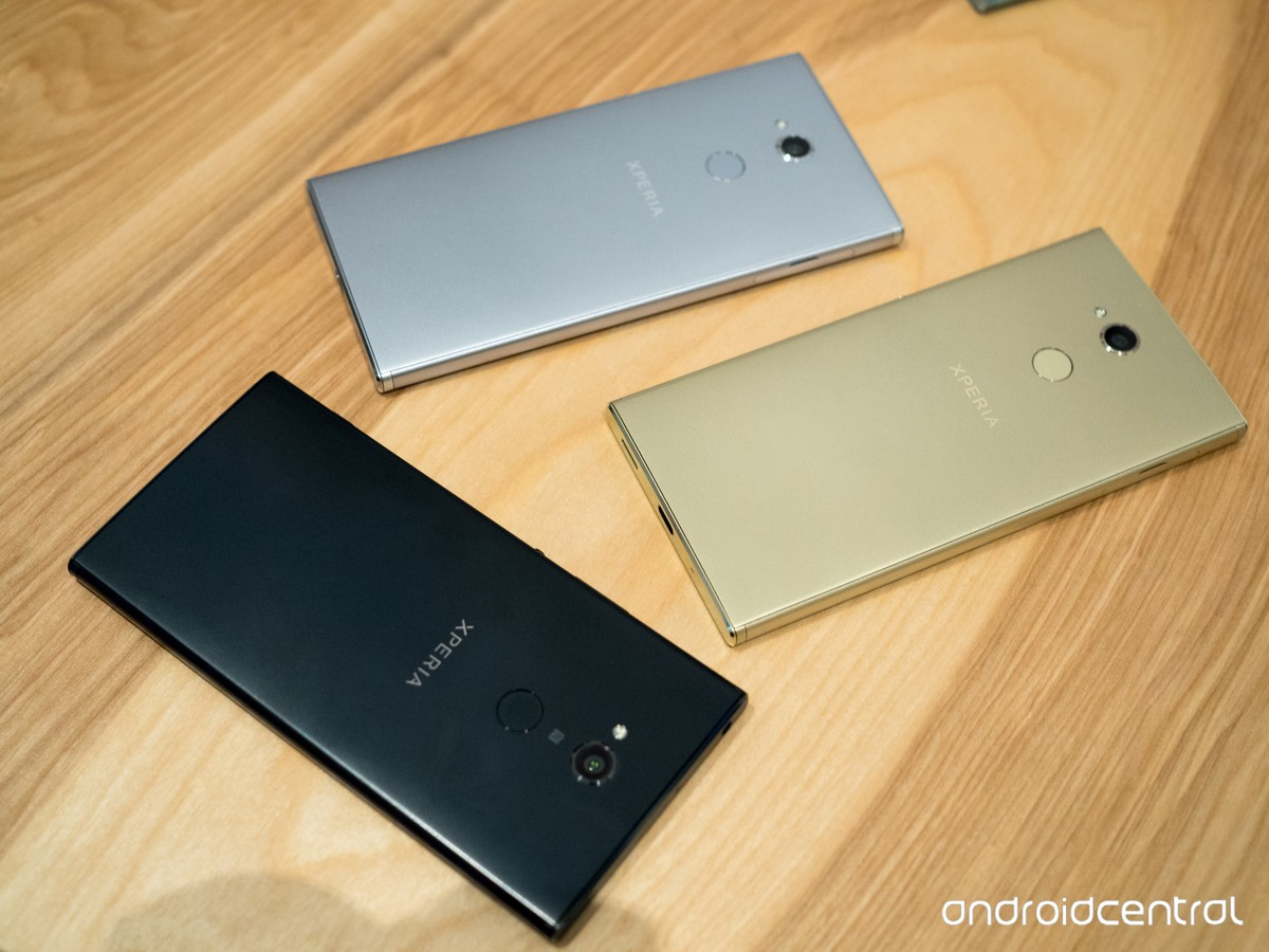 Sony Xperia XA2, XA2 Ultra, and L2 now available for pre