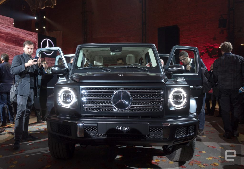 Mercedes ceo 39 stay tuned 39 for an electric g wagon suv for Mercedes benz ceo