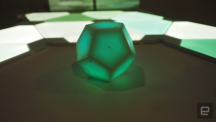 Nanoleaf wants you to control your smart home with a dodecahedron
