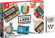 Nintendo unveils Labo, DIY cardboard add-ons for the Switch