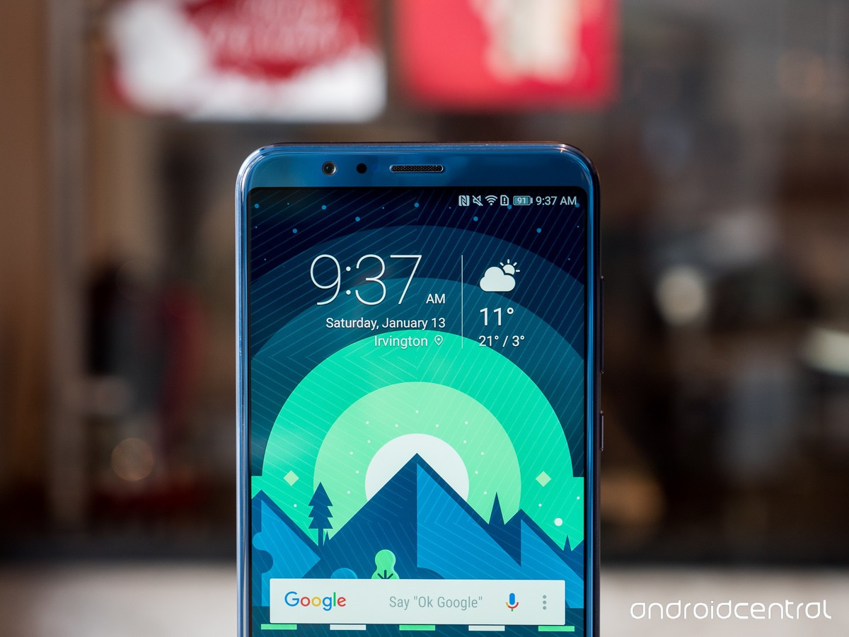 Honor View 10 update adds face unlock, January security patch, and
