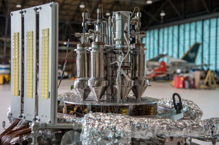 NASA just tested the tiny nuclear reactor it could use for a Martian colony
