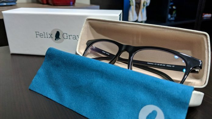 Felix Gray glasses reduce eye strain from all of those damned screens you stare at all day