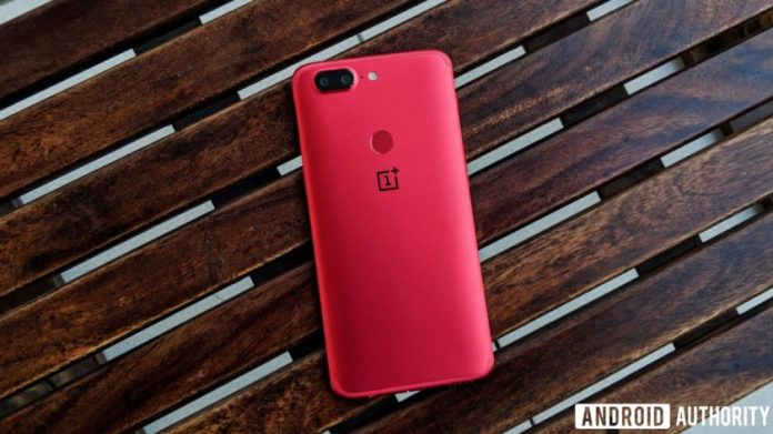 This is the OnePlus 5T Lava Red Edition