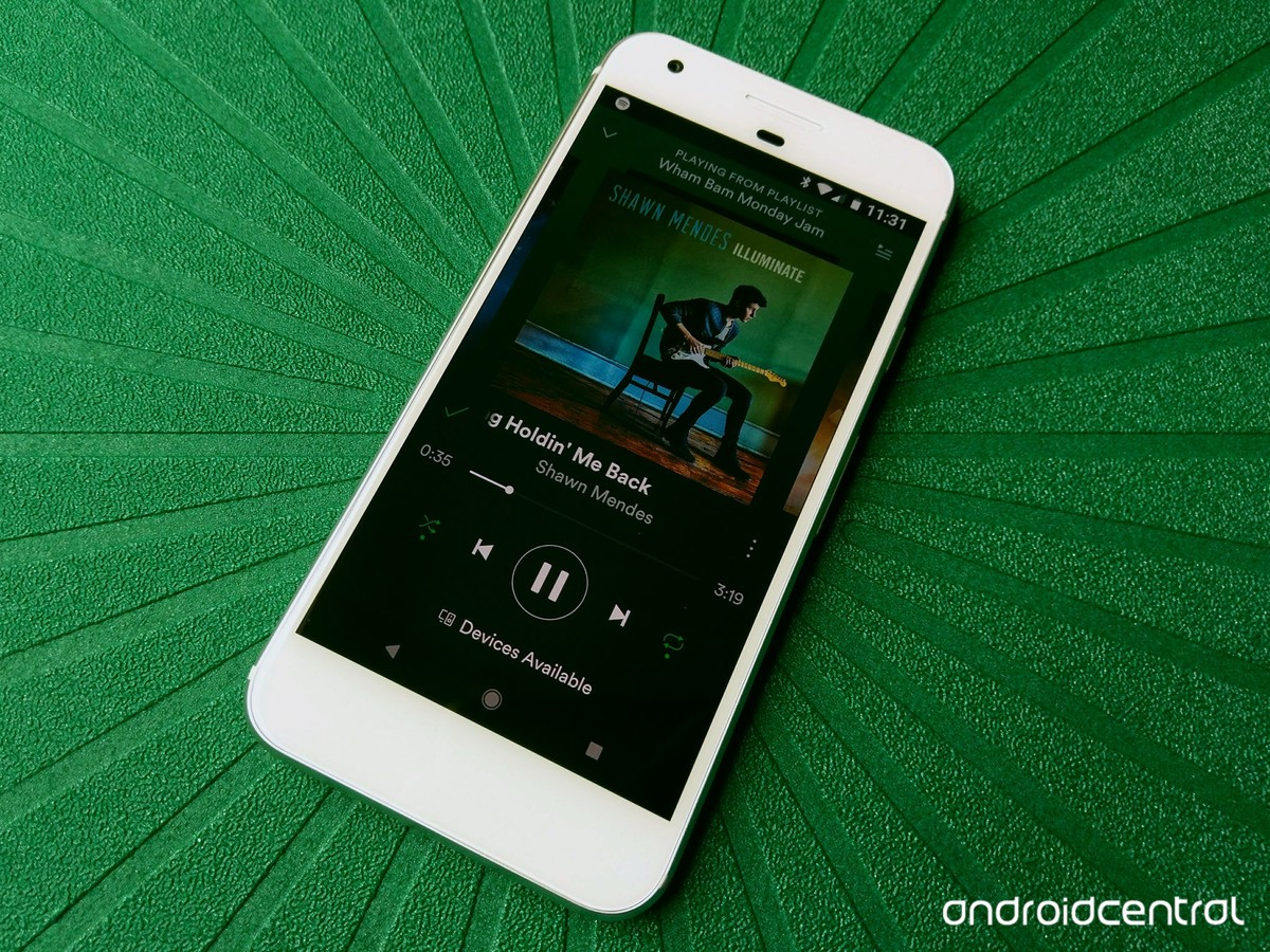how to add spotify to google play