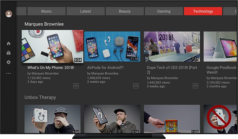 YouTube App for Apple TV Receives Major Redesign - AIVAnet