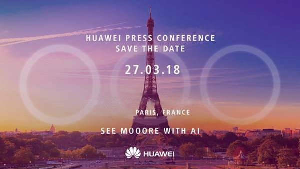 Huawei P20 invite hints at triple rear cameras as P20 Lite breaks cover