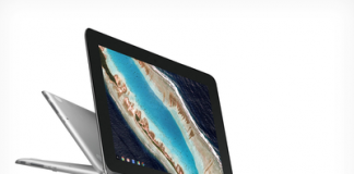 The $249 Asus Chromebook Flip can download and play apps via Google Play