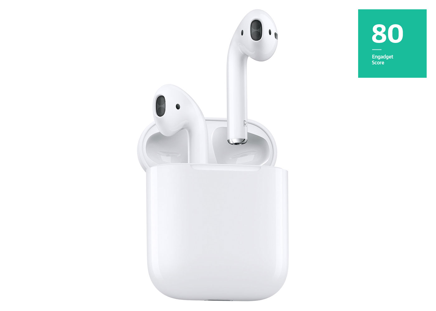 Airpods, score of 80