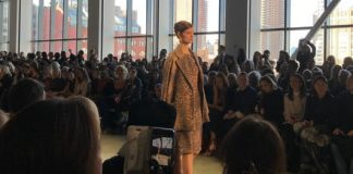 At N.Y. Fashion Week, Badgley Mischka let audience vote on designs with an app