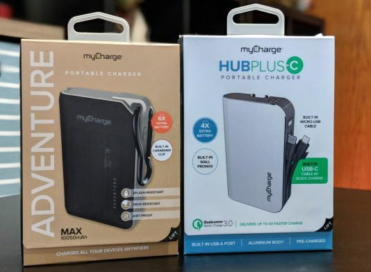 Gear Up: Keep powered with a myCharge portable charger solution