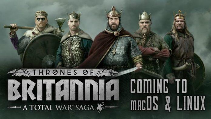 Feral Announces 'Total War Saga: Thrones of Britannia' Coming to Mac