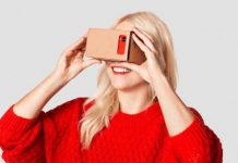 Got an old cardboard box? Make your own VR goggles for under $10