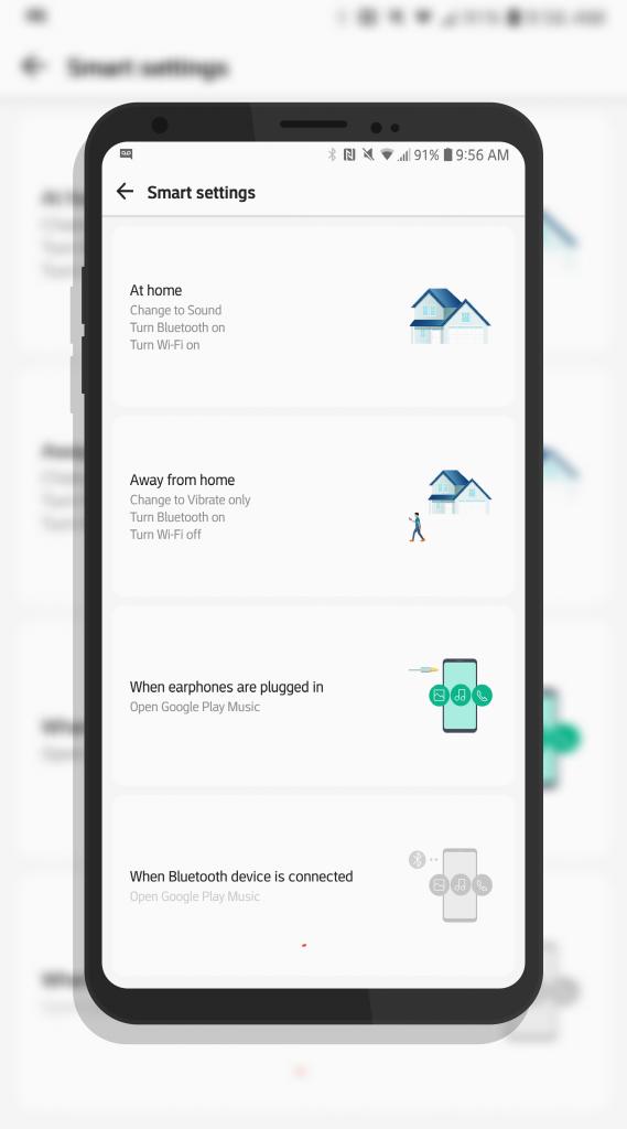 LG V30 Smart Settings