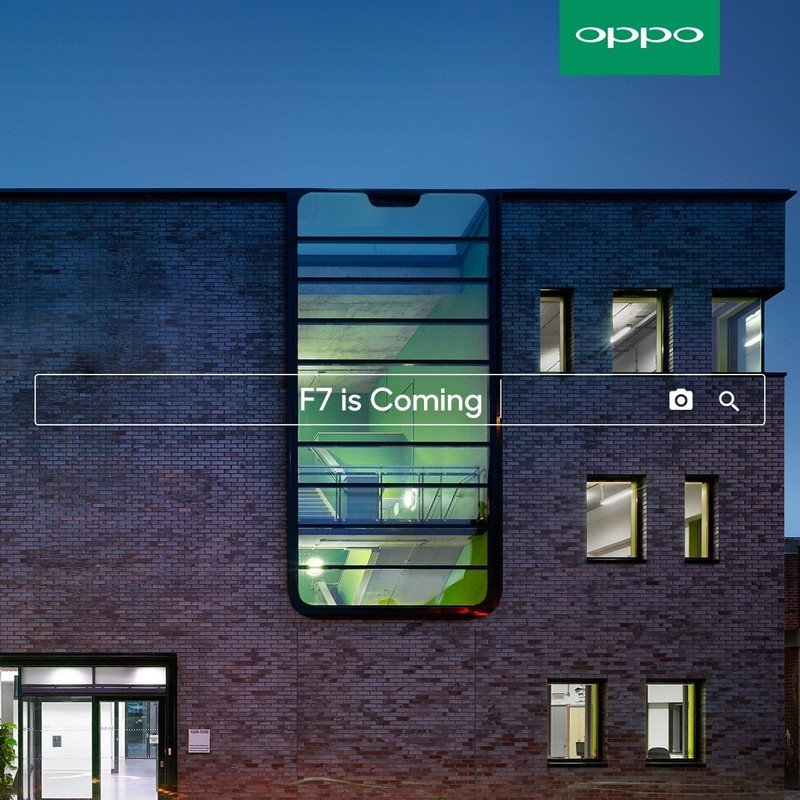 OPPO F7 is the latest Android phone to sport the notch