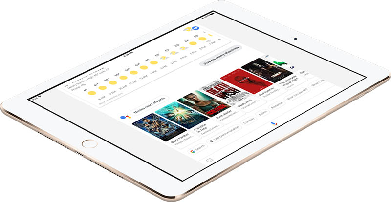 Google Assistant Now Available on iPad