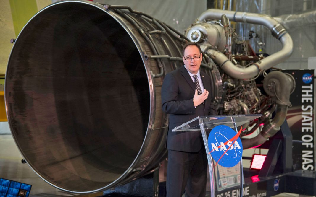 NASA's acting chief retires with no obvious successor