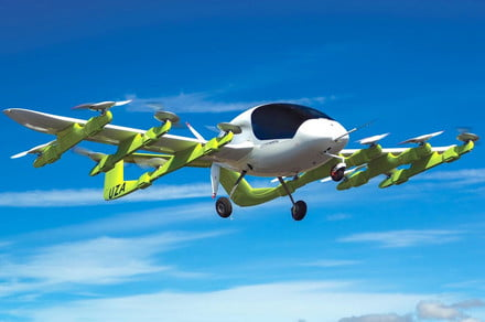 Google co-founder's self-flying taxi takes flight in New Zealand