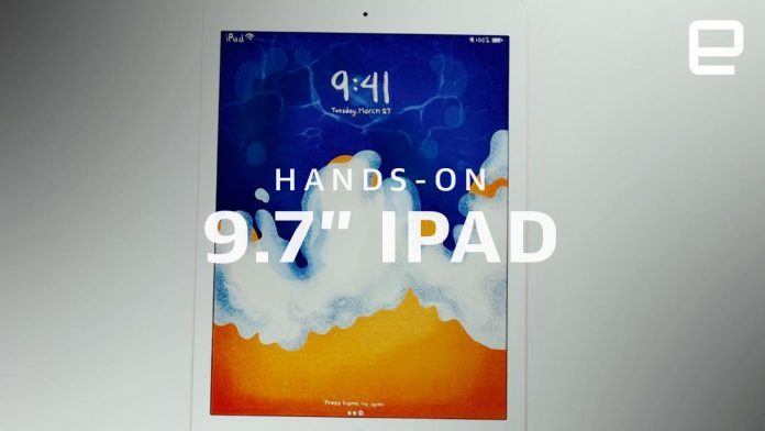 Apple iPad (2018) hands-on: It's all about the apps